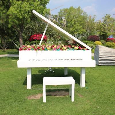 不锈钢工艺品钢琴摆件
