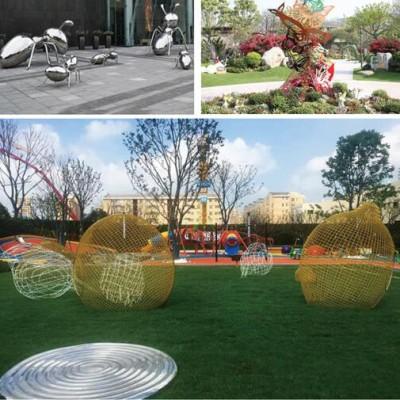 蓝山公园雕塑美陈案例