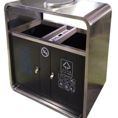 不锈钢烤漆垃圾桶