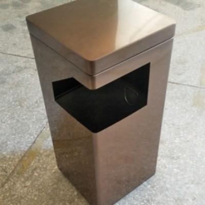 酒店不锈钢垃圾桶