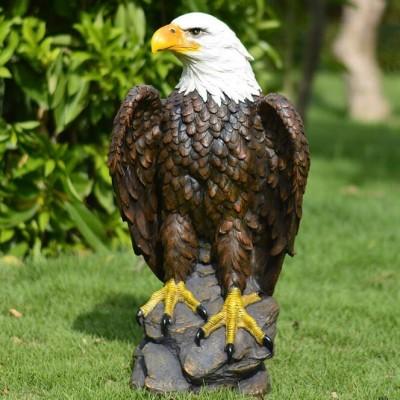 玻璃钢老鹰雕塑