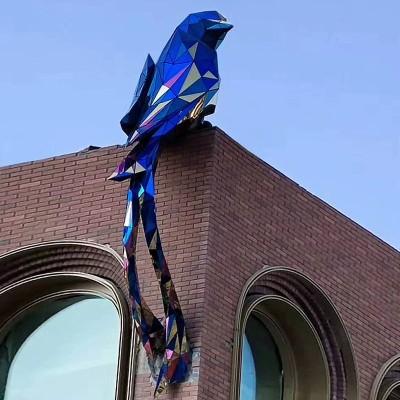 不锈钢鸟动物城市广场雕塑