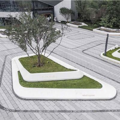 玻璃钢异形种植池户外广场大型树池