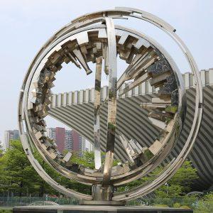 不锈钢雕塑校园雕塑多少钱?