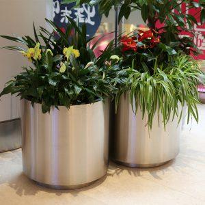 不锈钢花盆的这些优势你知道吗?