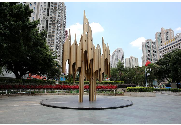 钢笔头不锈钢景观城市广场校园雕塑