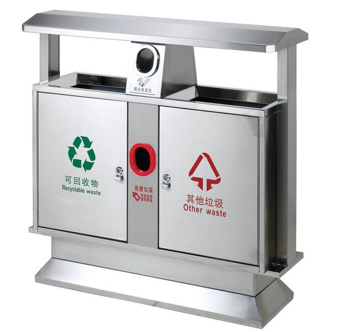 新型不锈钢垃圾箱怎样投放使用?
