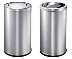 不锈钢垃圾桶如果生锈了怎么办?