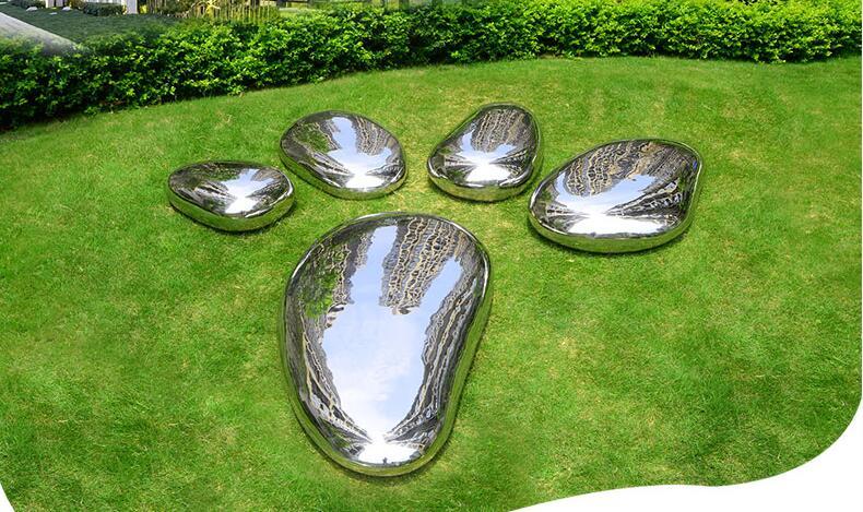 不锈钢创意鹅卵石头,回归自然!
