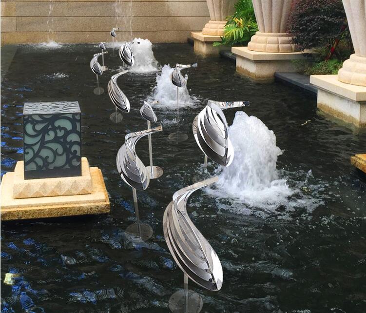 不锈钢鱼摆件,点缀生活的艺术摆件!
