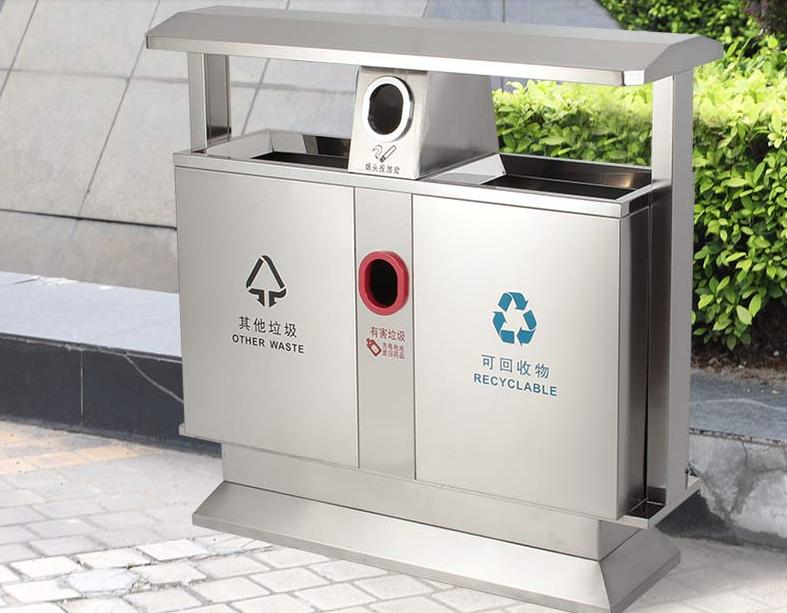 怎么辨别不锈钢垃圾桶的真假?