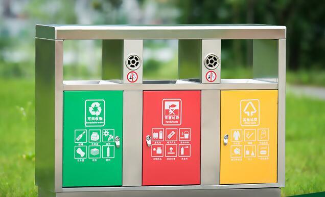 小区物业分类垃圾桶主要分为这三类!