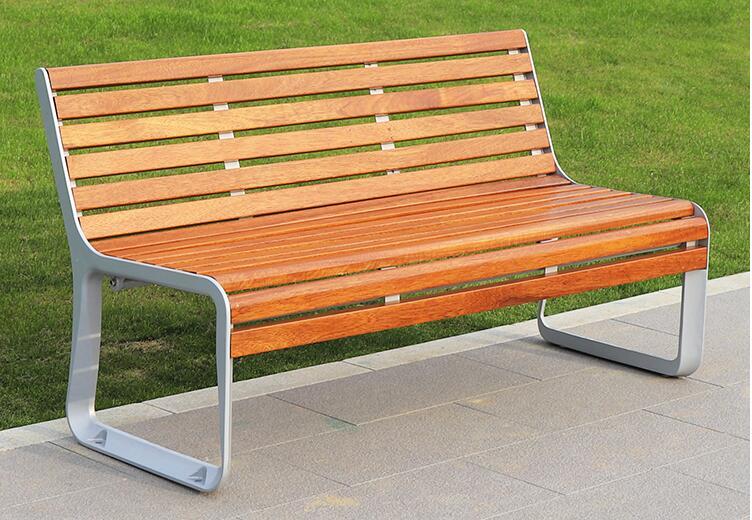 不锈钢+菠萝格景观坐凳,不至于颜值!