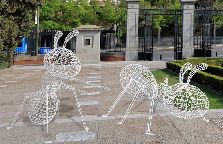 不锈钢镂空蚂蚁摆件,让生活有文化!