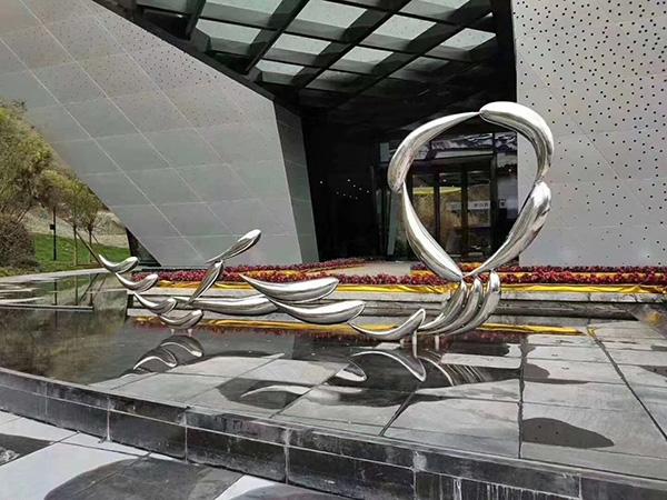 诺德生态城雕塑案例