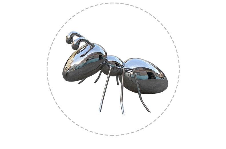 不锈钢蚂蚁动物城市景观广场雕塑