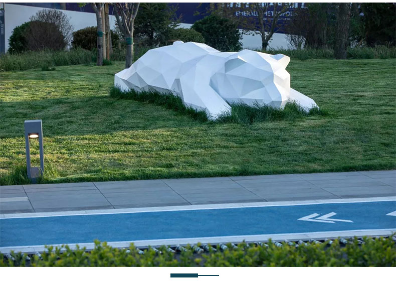 不锈钢动物景观雕塑定制