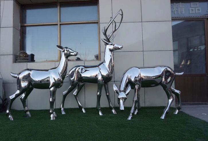 不锈钢雕塑是装饰园林景观的神器!