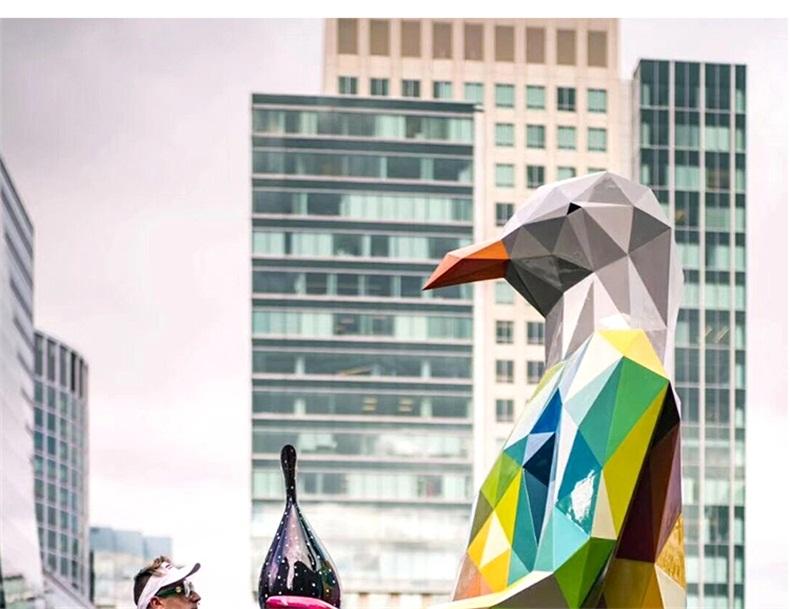 玻璃钢动物切面景观广场雕塑