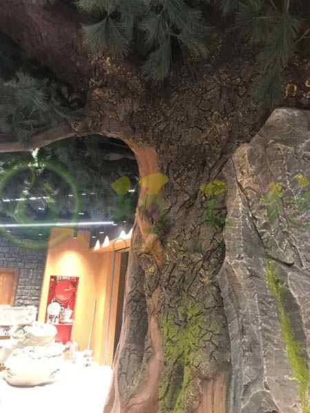 三只松鼠造型玻璃钢雕塑门店装饰美陈落地大摆件