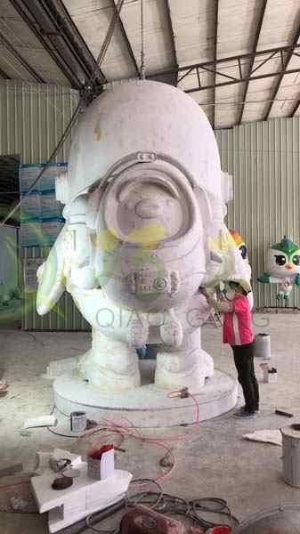玻璃钢企鹅雕塑户外园林广场美陈大型摆件