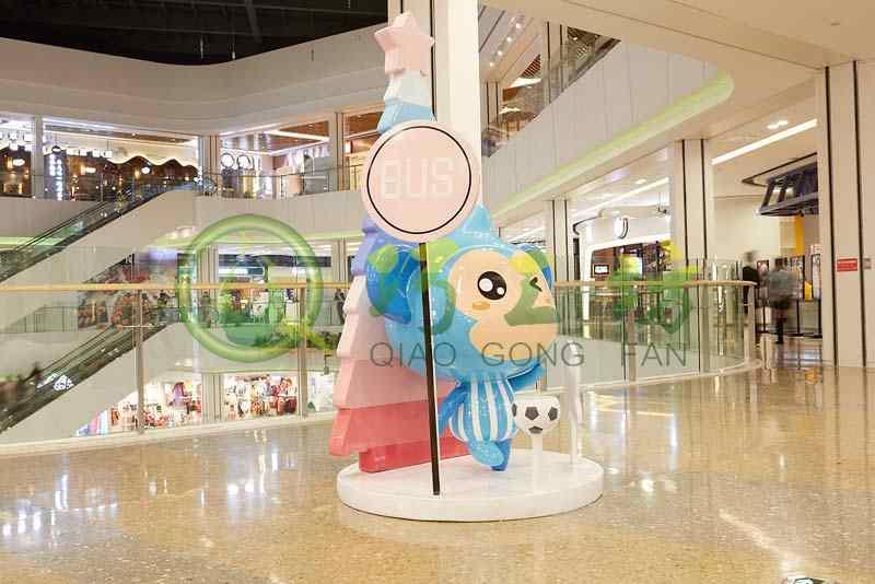 贵州印象城玻璃钢雕塑公仔,一起来看看吧!