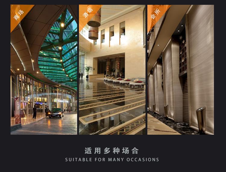 方口大型玻璃钢花箱商场户外广场花盆